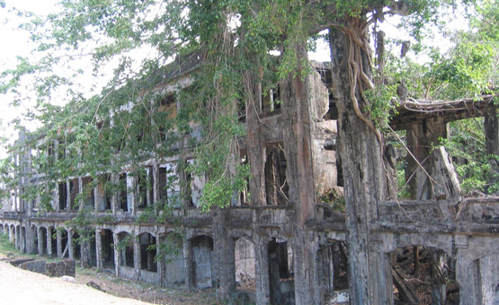 corregidor island - beautiful historical places in the places