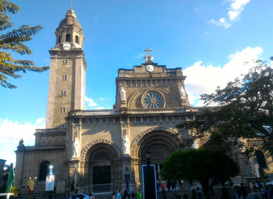 manila cathedral, places to visit, things to do in intramuros, tourist attractions