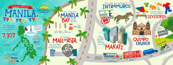 manila sightseeing tourist attractions - where is the capital city of the philippines