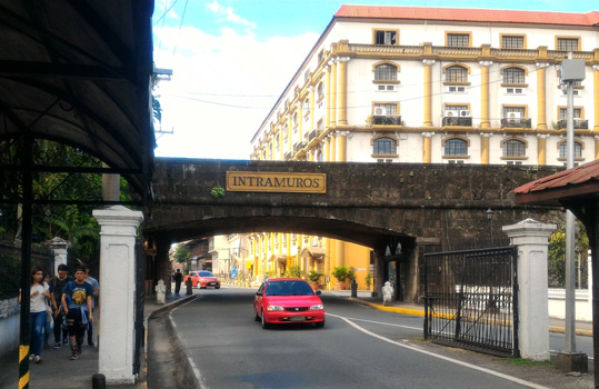 places to visit in manila - thing to do in Intramuros