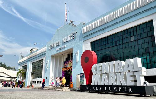 Central market pasar seni cheap shopping