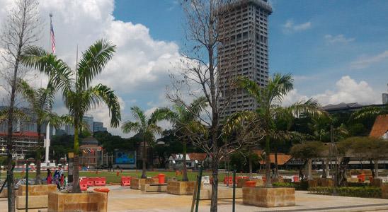 merdeka square dataran, top places to visit in kuala lumpur, capital city of malaysia