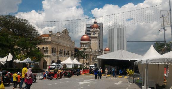 sultan abdul samad building - kl tourist attractions