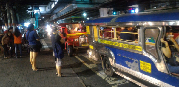 transportation jeepney pearl of the orient condo for rent quezon city