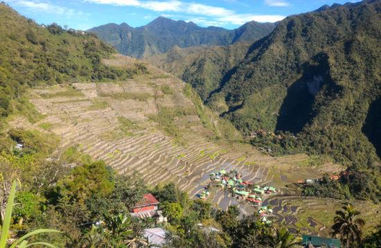 batad rice terraces view point