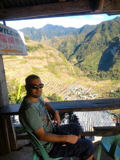 Batad Rice terraces view