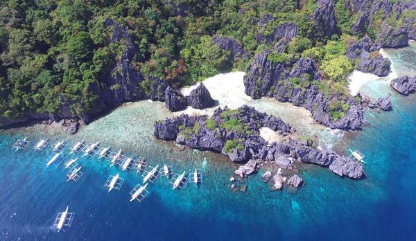 hidden beach palawan island hopping tour
