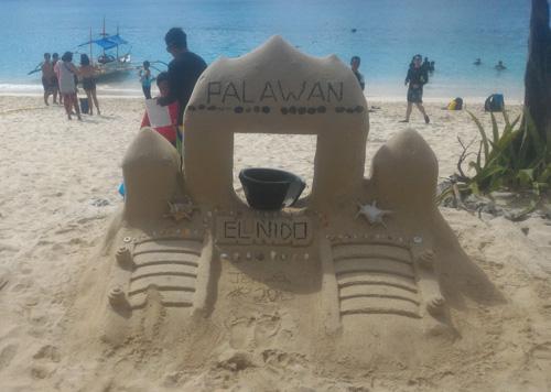 palawan island white beach