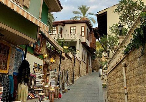 historical kaleici streets