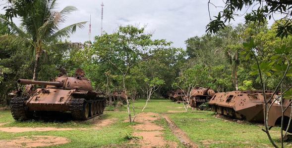 things to do in siem reap cambodia war museum