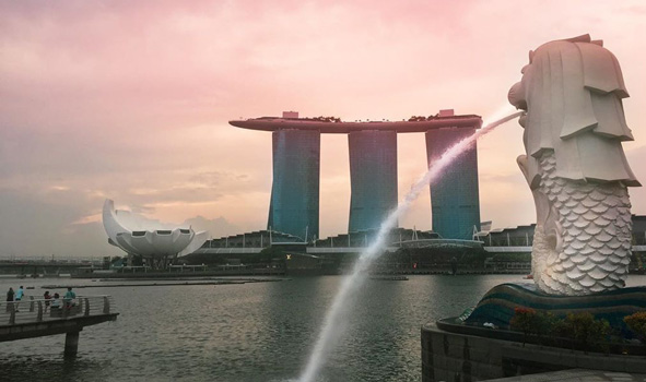 places to visit in singapore merlion park