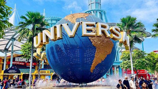 sentosa island universal studios