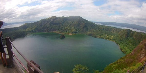 Taal Volcano Places to visit near Manila in the Philippines