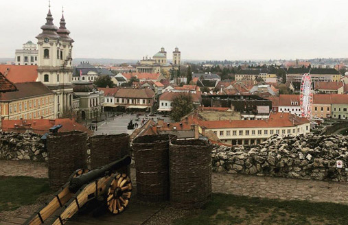 Eger Castle Historical Places to Visit in Hungary