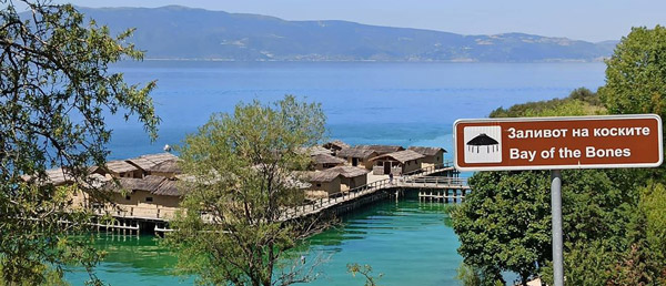 Lake Ohrid Bay of the Bones Museum on Water Best Places to visit in North Macedonia