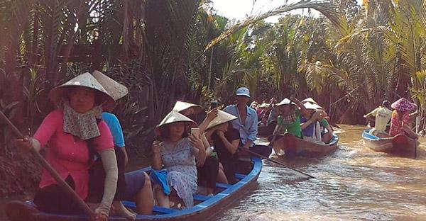 Mekong River Delta Tour Places to visit in Vietnam Ho Chi Minh City Saigon