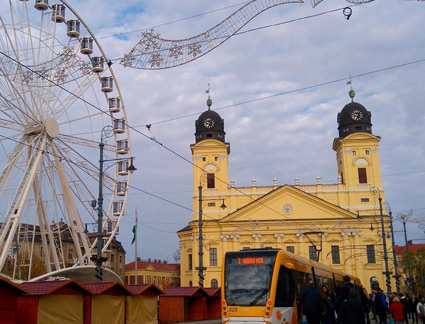Places to visit in Hungary - Things to do in Debrecen - Kossuth Ter