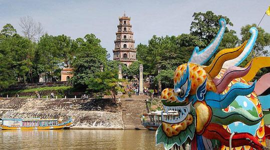 Thien Mu Pagoda Hue travel guide blog