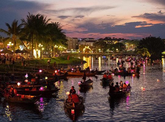 Thu Bon River Hoi An Places to visit in Vietnam
