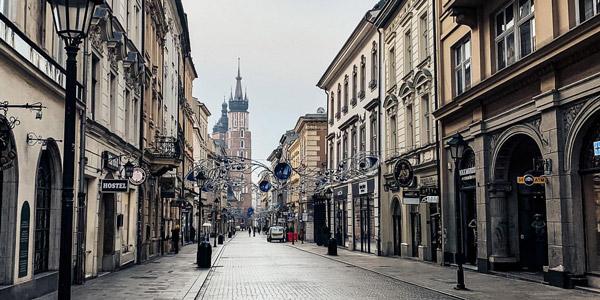 Florianska Street Places to Visit in Krakow Poland