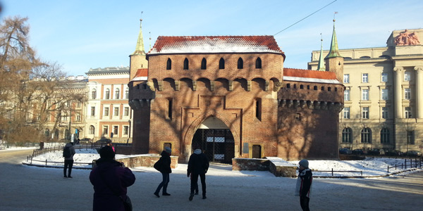 Krakow Barbican Beautiful places to visit in Oldtown