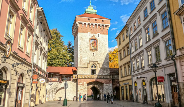 St Florian's Gate Free things to do in Krakow