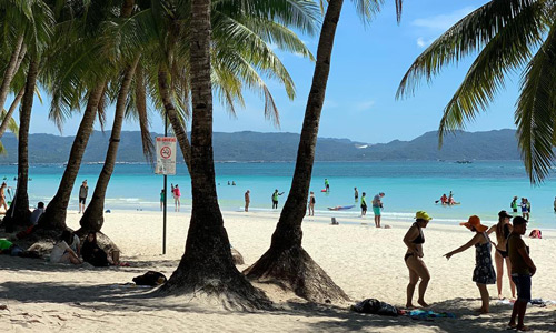 White Beach Best places to visit in Boracay Island