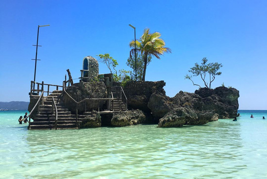 Willy's Rock Things to do in Boracay