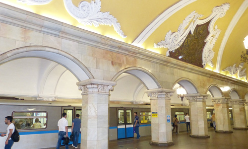Moscow Metro Things to do in Russia