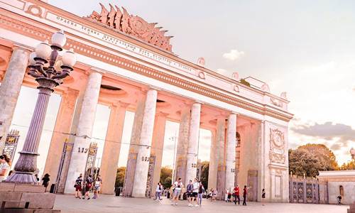 Gorky Park Where to go in Russia