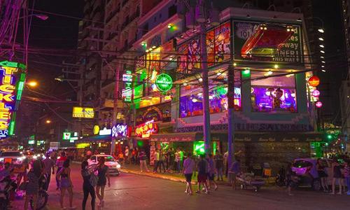 Manila Nightlife Makati Burgos Street Red Light District