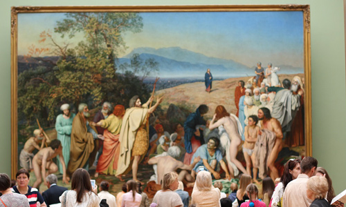 State Tretyakov Gallery Places to visit in Moscow Russia