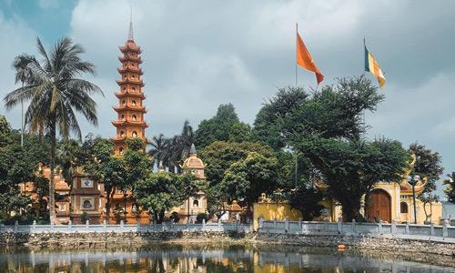 Chua Tran Quac Vietnam