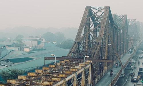 Long Bien Bridge Vietnam