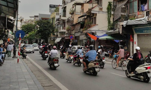 Old Quarter Beautiful places to visit in Hanoi