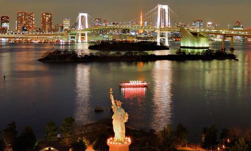Tokyo Bridge Odaiba Places to visit in Japan