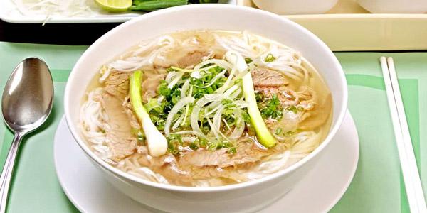 Vietnamese food Pho noodle soup