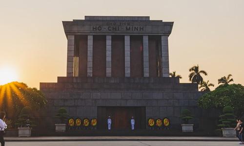 Visit Ho Chi Minh Mausoleum Things to do in Hanoi