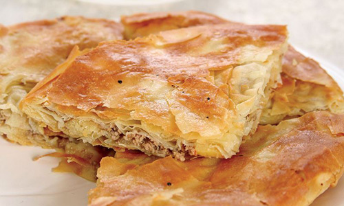 Albanian Byrek What to eat Places to visit in Prizren