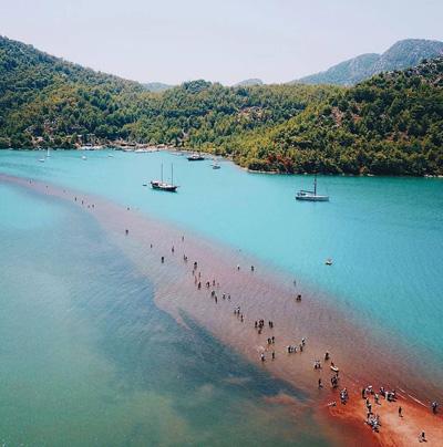 Kizkumu Beach Natural Beauty in Turkey