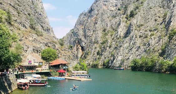Matka Canyon Balkan tour