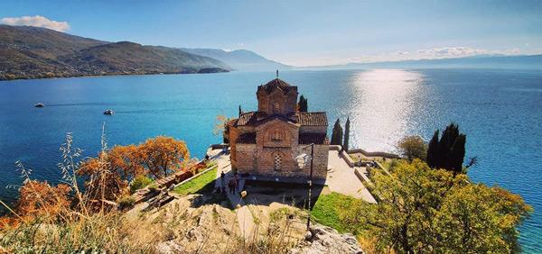 Ohrid Lake Church of St. John at Kaneo