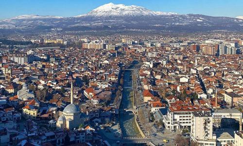 Prizren Castle city view Places to visit in Kosovo